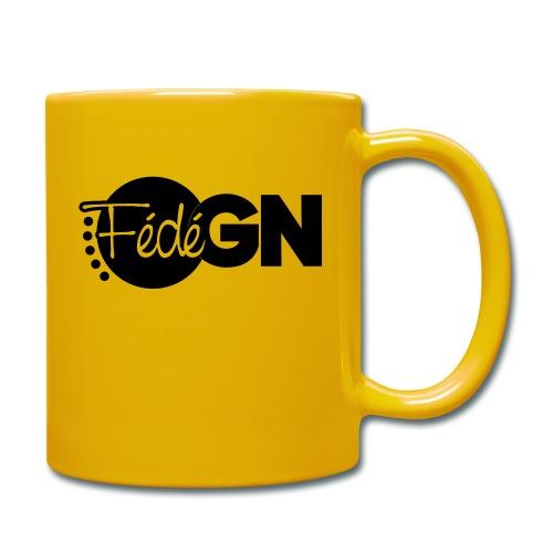 Logo FédéGN pantone - Mug uni
