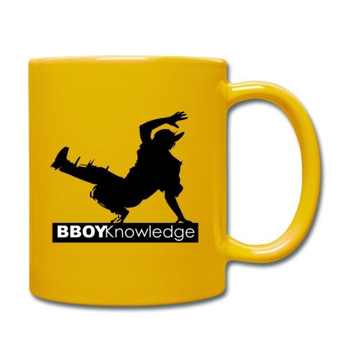 Bboy knowledge noir & blanc - Mug uni
