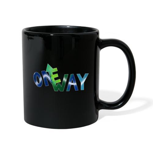 One Way - Tasse einfarbig