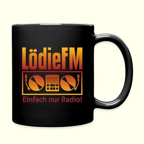 LödieFM Logo big - Tasse einfarbig