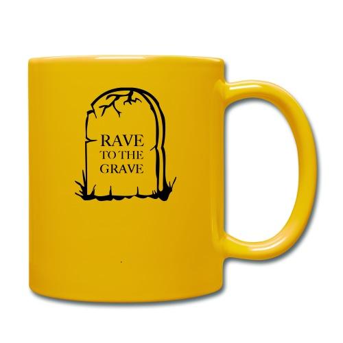 Rave to the Grave - Full Colour Mug