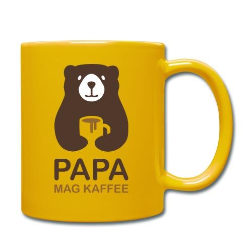 Papa aime le café - Mug uni