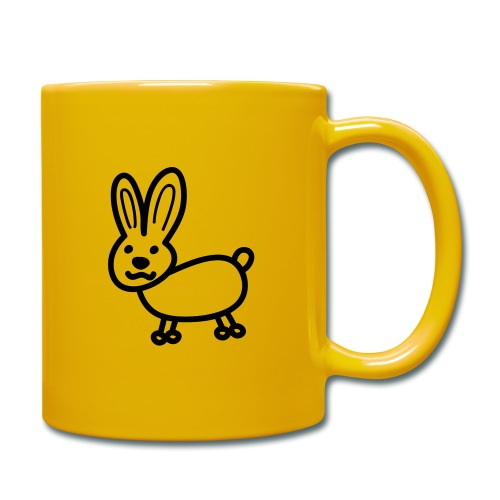 Hase Comicfigur - Tasse einfarbig