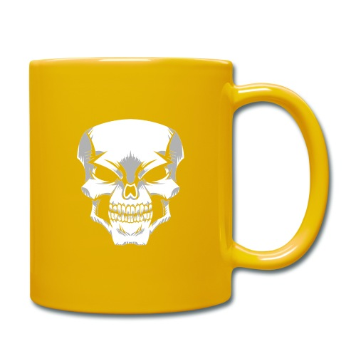 Skull - Taza de un color