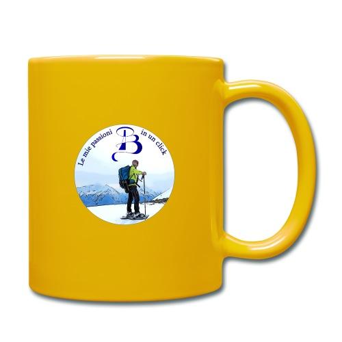Logo cartone ciaspole - Tazza monocolore