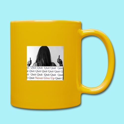 Never give up - Mug uni