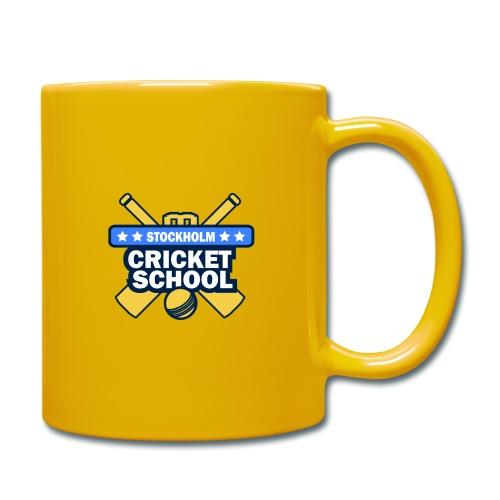 Cricket School - Enfärgad mugg
