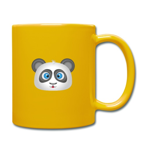 panda head / cabeza de panda 2 - Taza de un color