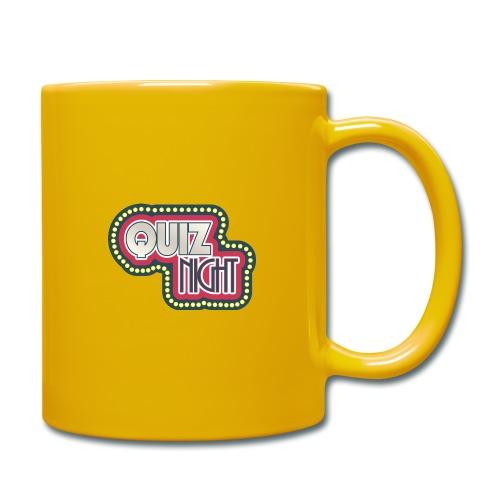 quiz - Tasse einfarbig