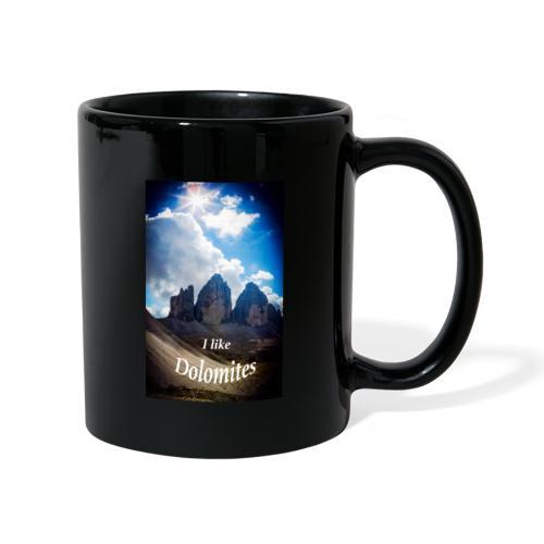 I like Dolomites Kopie - Tasse einfarbig