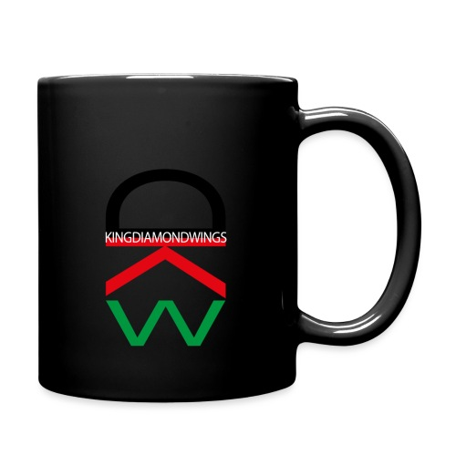 King Diamond Wings Colored Logo - Full Colour Mug