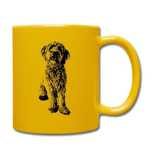 Golden Doodle Hunde Design Geschenkidee - Tasse einfarbig