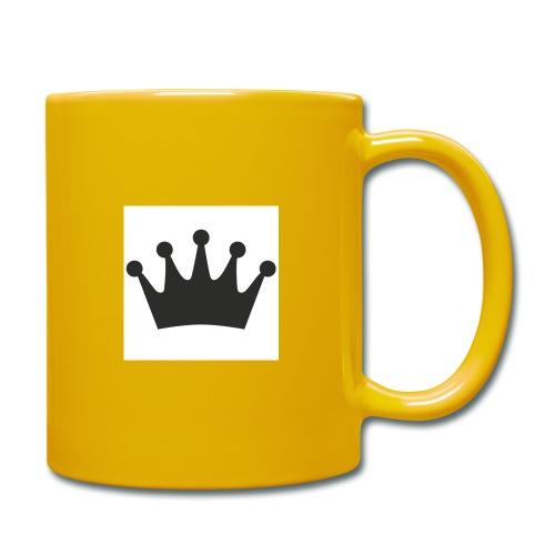 krone - Tasse einfarbig