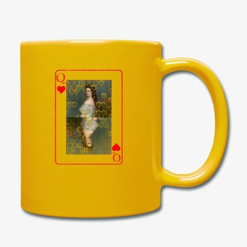Kaiserin Sissi spielkarte Österreich - Tasse einfarbig