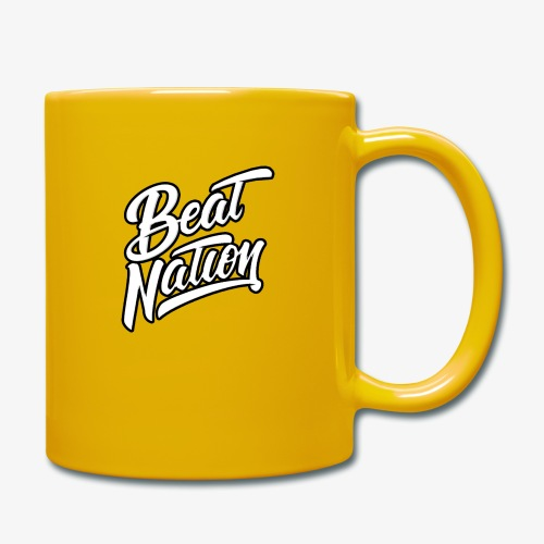 Logo Officiel Beat Nation Blanc - Tasse einfarbig