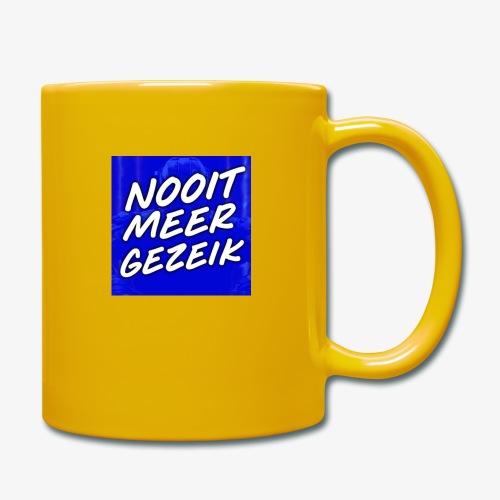 De 'Nooit Meer Gezeik' Merchandise - Mok uni