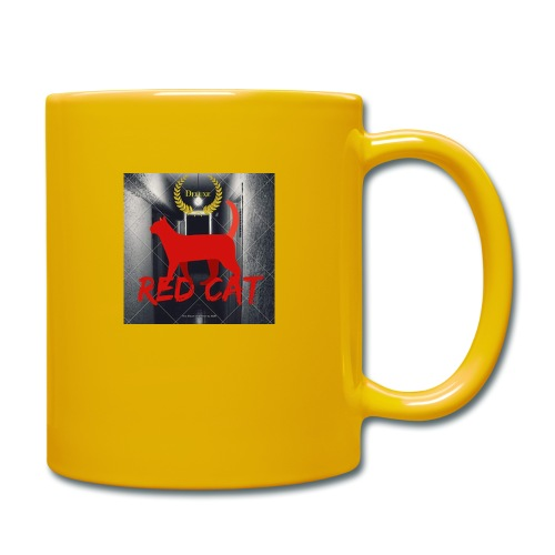 Red Cat (Deluxe) - Full Colour Mug