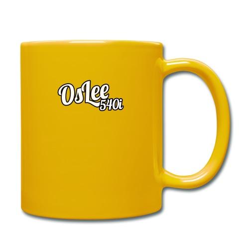 OsLeeLogoSchatten - Tasse einfarbig
