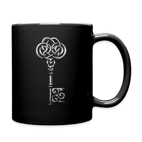 CHAVE-celtic-key-png - Taza de un color