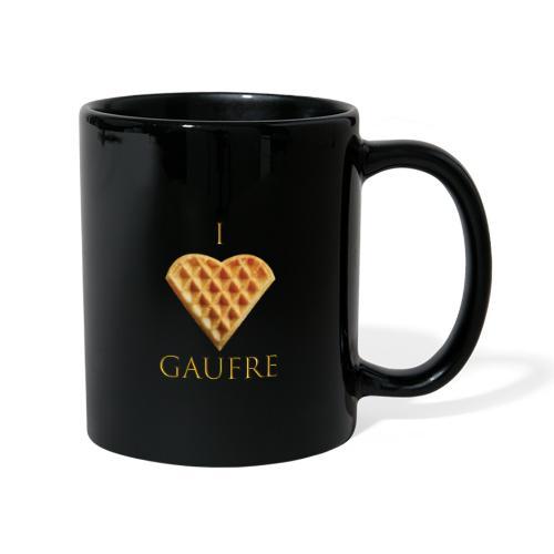 i love gaufre - Mug uni