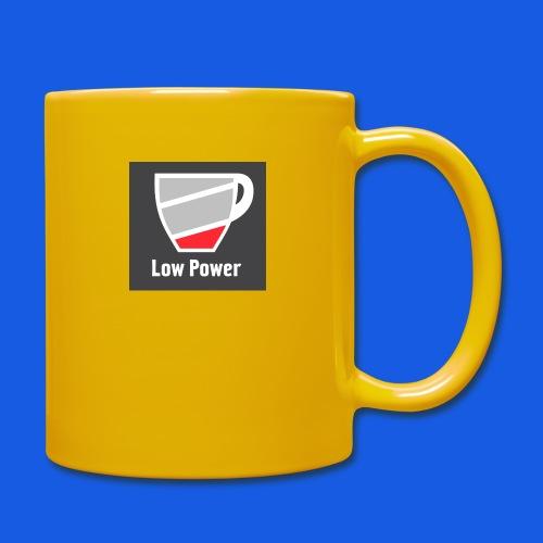Low power need refill - Ensfarvet krus