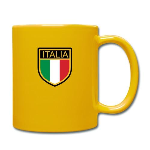 SCUDETTO ITALIA CALCIO - Tazza monocolore