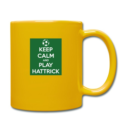 keep calm and play hattrick - Tazza monocolore