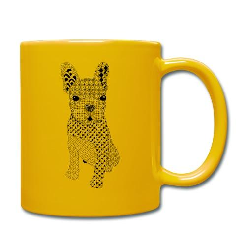 Bulldog puppy patroon - Mok uni