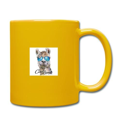 Cool Lama - Tasse einfarbig