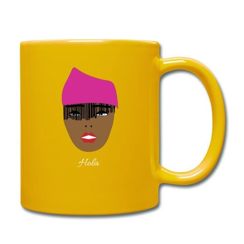 Pink lady - Enfärgad mugg