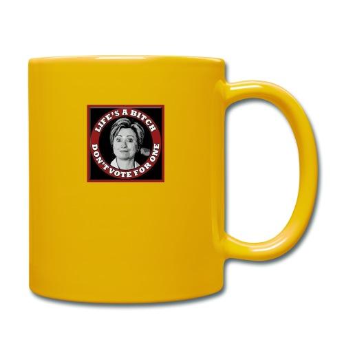 Don't Vote Hilary - Full Colour Mug
