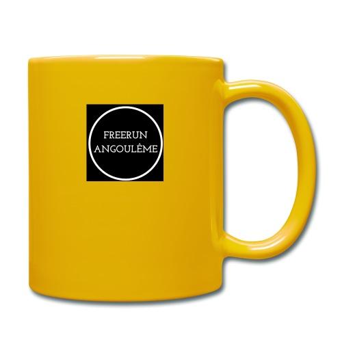 Freerun Angouleme noir logo - Mug uni