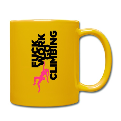Go Climbing girl! - Full Colour Mug