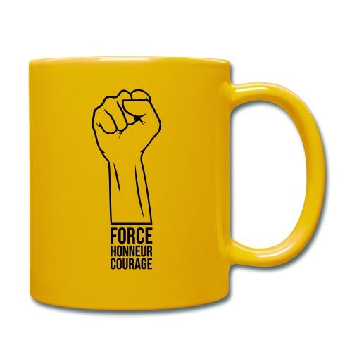 Force Honneur Courage - Mug uni