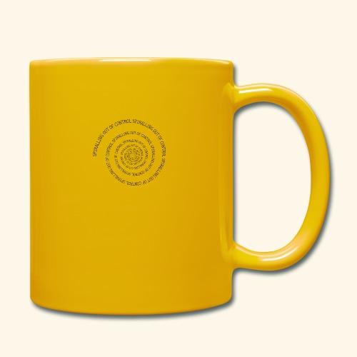 SPIRAL TEXT LOGO BLACK IMPRINT - Full Colour Mug