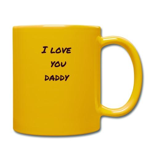 Ich liebe dich Papa - Vatertagsgeschenktipp - Tasse einfarbig
