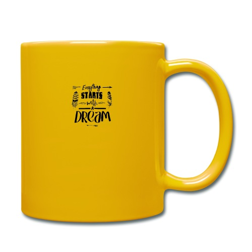 Starts with a Dream - Mug uni