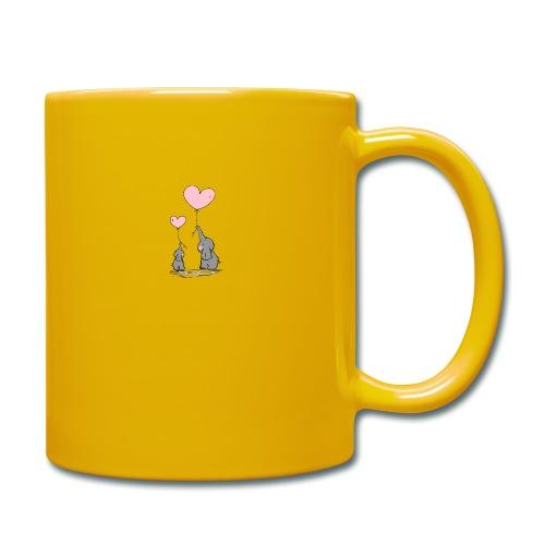 Éléphant Amoureux - Mug uni