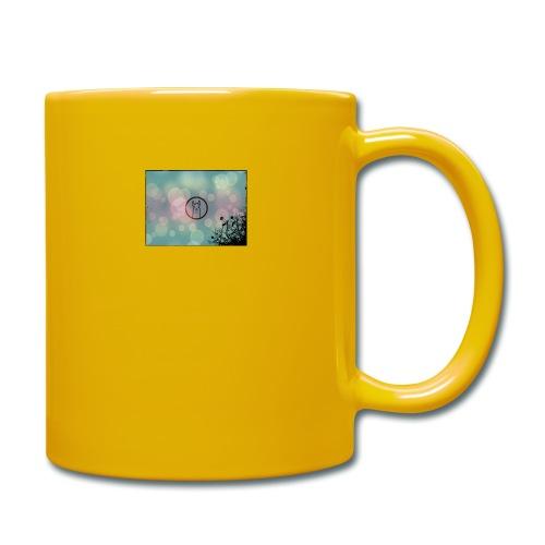 Llama in a circle - Full Colour Mug