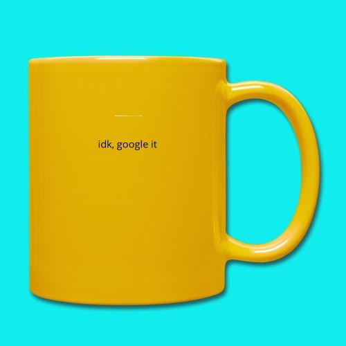 idk, google it. - Full Colour Mug