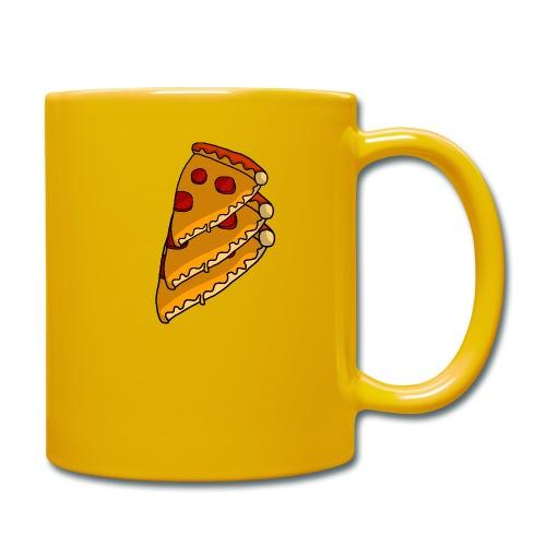 pizza - Ensfarvet krus