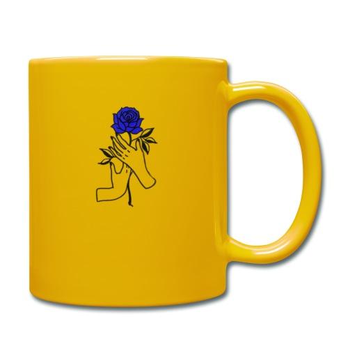 Fiore blu - Tazza monocolore
