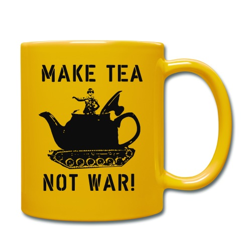 Make Tea not War! - Full Colour Mug