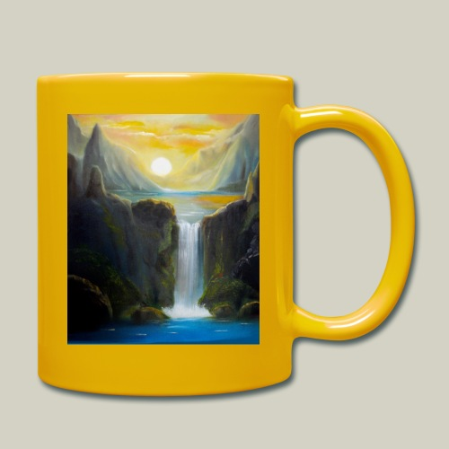 Waterfall - Tasse einfarbig