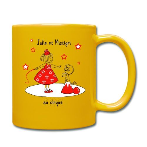 Julie et Mistigri au cirque - Mug uni