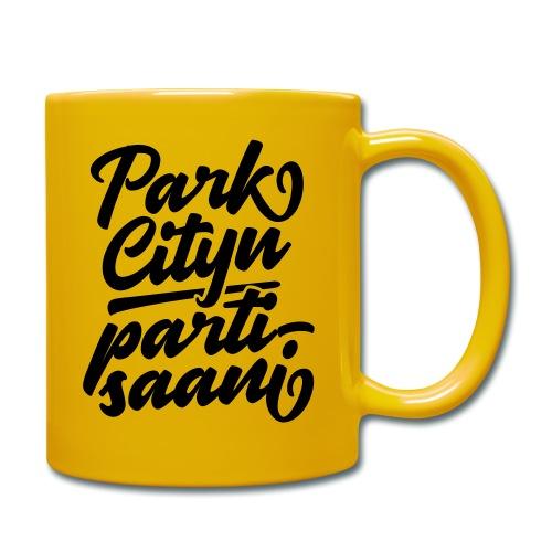 Puistola - Park Cityn partisaani - Yksivärinen muki