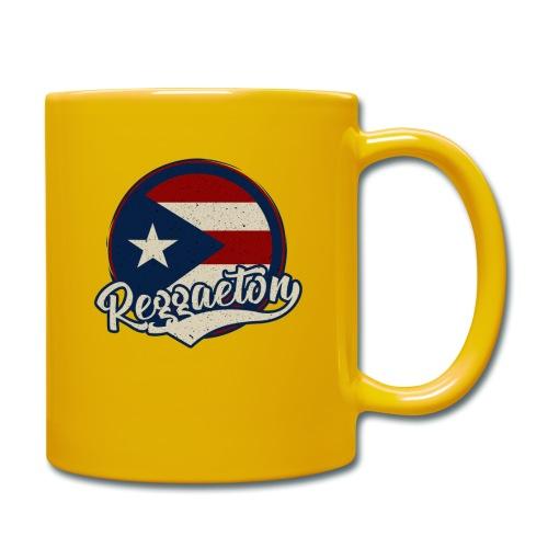 Reggaeton Music - Puerto Rico - Tasse einfarbig