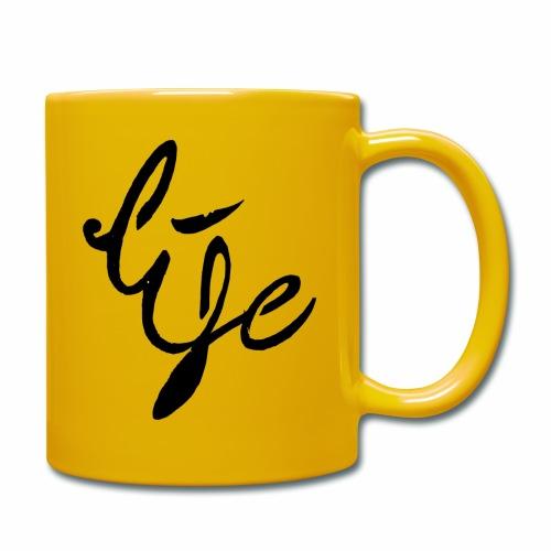 Life Logo simple black - Mug uni