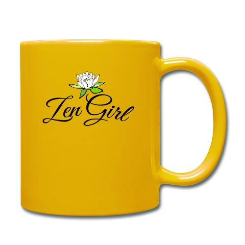 Zen Girl -Lotus Blomma - Prima Vera Design - Enfärgad mugg