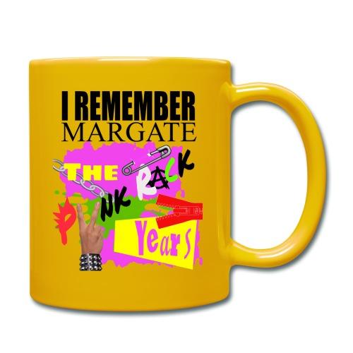 I REMEMBER MARGATE - THE PUNK ROCK YEARS 1970's - Full Colour Mug